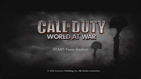 Theme Music World At War   call of duty world at war main menu theme soundtrack 1080p