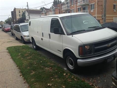 buy used 2002 chevrolet express 3500 base standard cargo van 3 door 5 7l in bronx new york