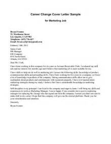 New Career Cover Letter by 2016 Cover Letter For Career Change Writing Resume