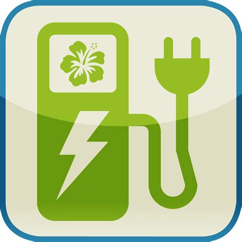 electric vehicles symbol electric charger car symbol