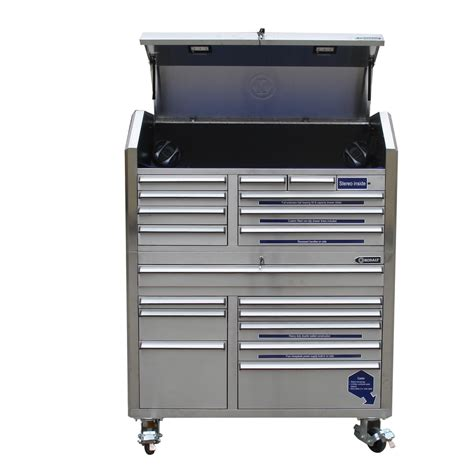 Lowes Tool Cabinet by Shop Kobalt 68 7 In X 53 In 18 Drawer Bearing
