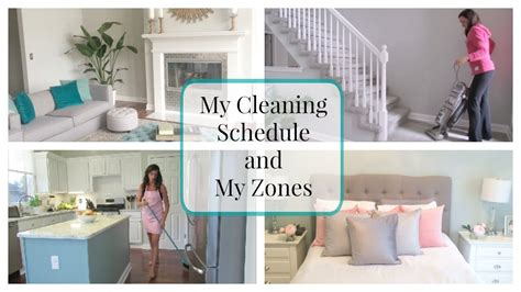 clean my house my house cleaning schedule and my zones youtube