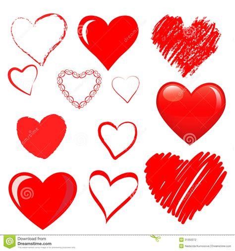 Bonia Mata Black vector hearts set stock vector illustration of marriage