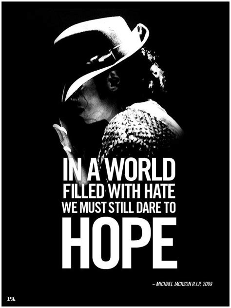 #MichaelJackson, #hope, #quotes | Inspirational Quotes in