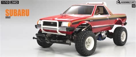 subaru brat custom tamiya america item 58384 rc subaru brat 2wd truck