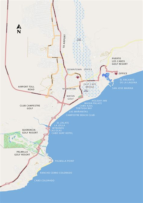 san jose golf map san jose cabo homes of cabo real estate