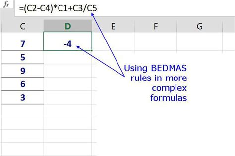 A Beginner S Step By Step Guide To Excel Formulas