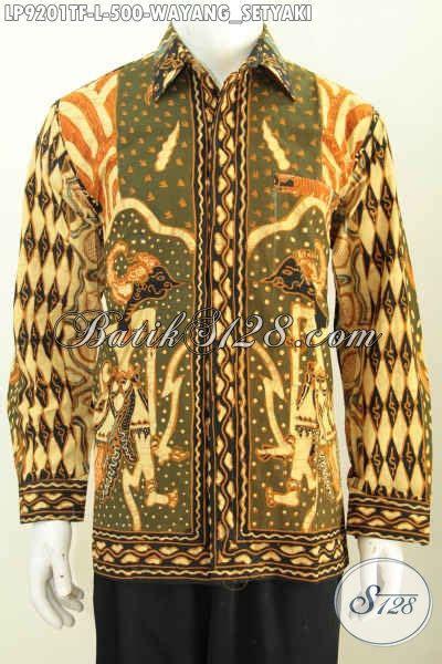 desain baju batik lengan panjang pria baju batik pria lengan panjang cool abis kemeja batik