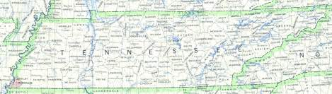 map of tennessee and carolina with cities tennessee counties map with cities state map