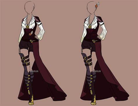 design clothes girl custom fashion 60 by karijn s basement deviantart com on