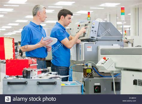 supervisor technician to use machine in