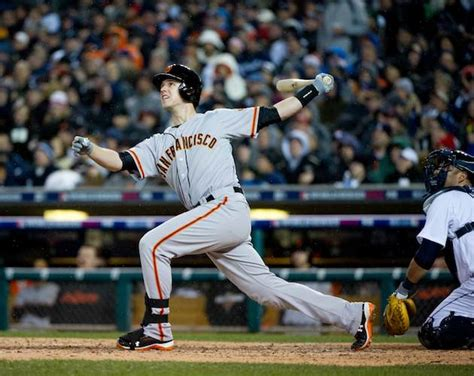 buster posey swing analysis eye on photos giants win 2012 world series cbssports com