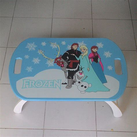 Meja Belajar Napolly Frozen jual meja belajar anak frozen simple furniture