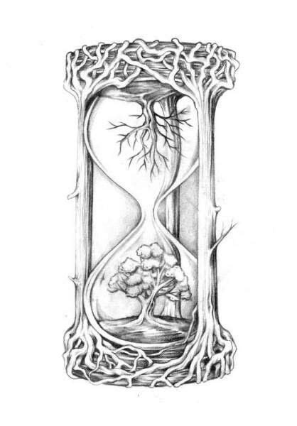 henna tattoo stift clock tree tattoo ideas it clocks