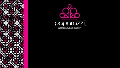 Paparazzi Accessories Business Card Template