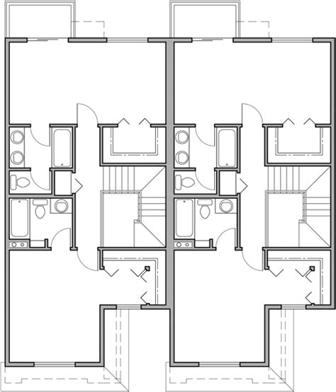 Duplex Floor Plans 2 Bedroom by Two Story Duplex House Plans 2 Bedroom Duplex House Plans