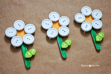 button crafts for button clothespin flowers repeat crafter me