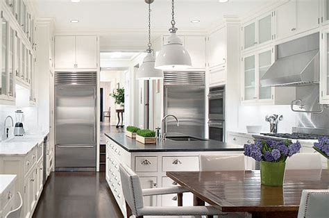 kitchen cabinets new york city two white kitchens in new york city cococozy