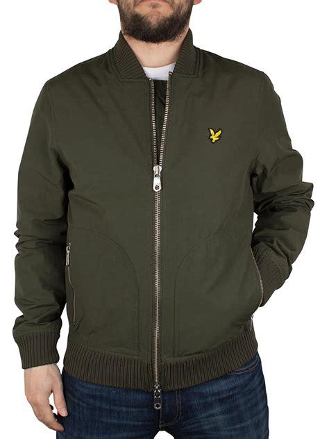 Bomber Scot lyle s zip bomber jacket green ebay