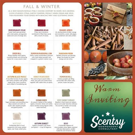 fall scents fall and winter scents available on september 1 2015 in