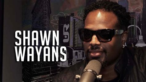 shawn wayans stops by 97 gives chris brown advice and