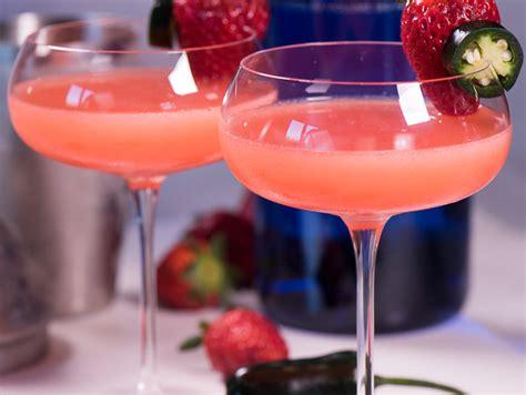 martini strawberry fresh strawberry martini with strawberry syrup