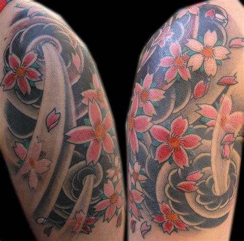 tattoo flower wind wind and flowers by tattookame on deviantart