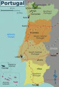 World Map Portugal by Map Of Portugal Overview Map Worldofmaps Net Online