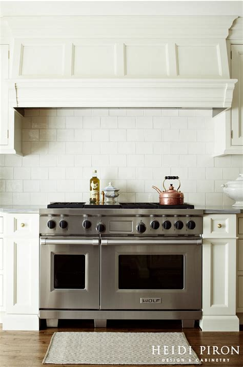 Kitchen Range Hood Ideas | classic off white kitchen design happy new year home
