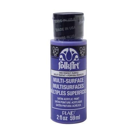 acrylic paint smell folkart 2 oz purple multi surface paint 2929