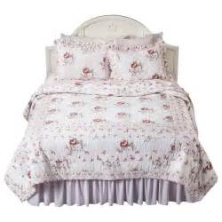 simply shabby chic rachel ashwell mayberry rose king quilt