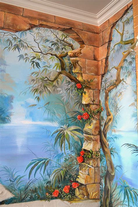 cool bedroom murals 1000 ideas about mural painting on pinterest