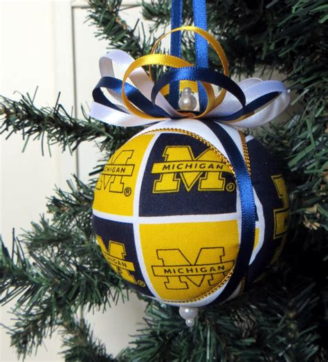 Of Michigan Ornaments - of michigan ornament made to order
