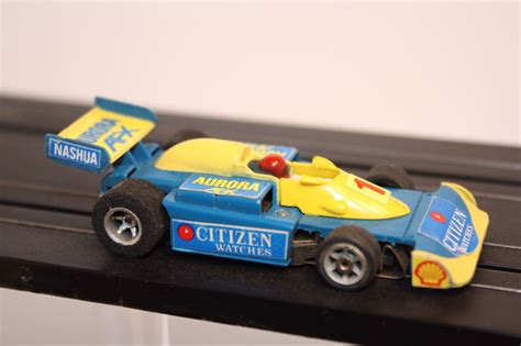 Die Cast Formula 1 Yellow Blue f5000 citizens formula pacific car die cast and wheels afx 1982 from sort