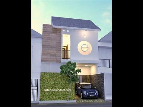 desain rumah mungil  lahan xm youtube