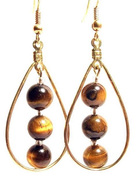 Via S Handcrafted Jewelry - handcrafted jewelry gems collection brown tiger s