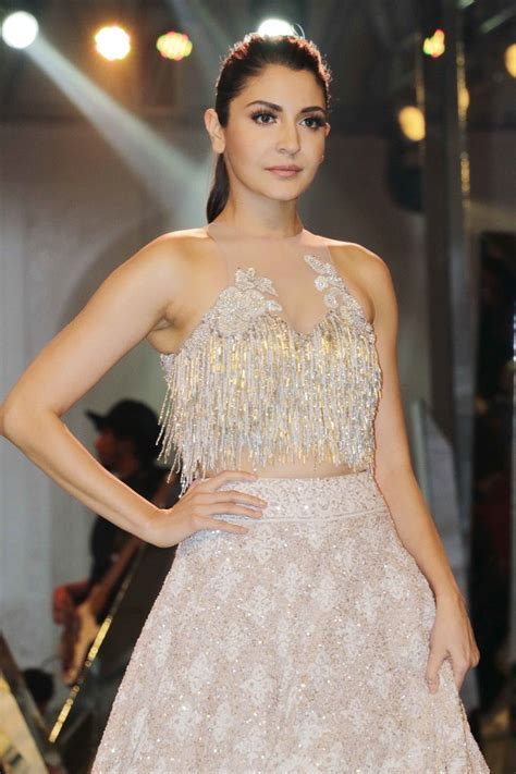 Sharma Designs The Of A - anushka sharma walked the r for manish malhotra at the