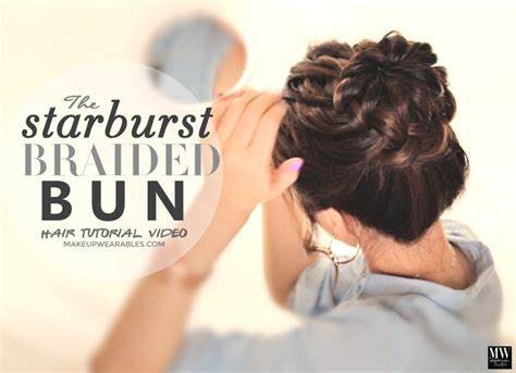 Wedding Updos Braided Bun by 48 Bun Ideas For All Kinds Of Occasions