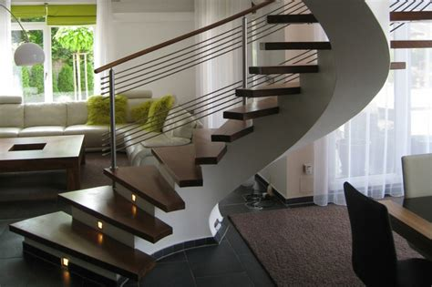 escaleras de interior modernas  ideas  elevar el