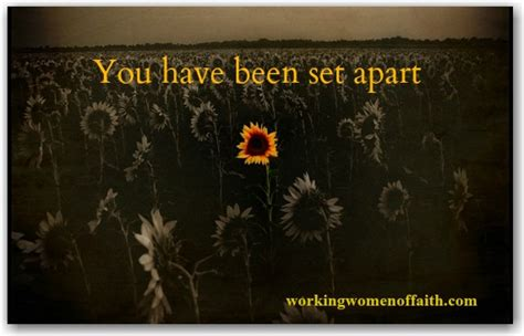 set appart make your something count for something working women of