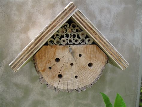 bee houses diy mason bee house plans