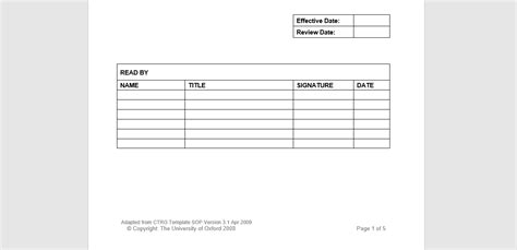 standard operating procedure template nhs 20 free sop templates to make recording processes