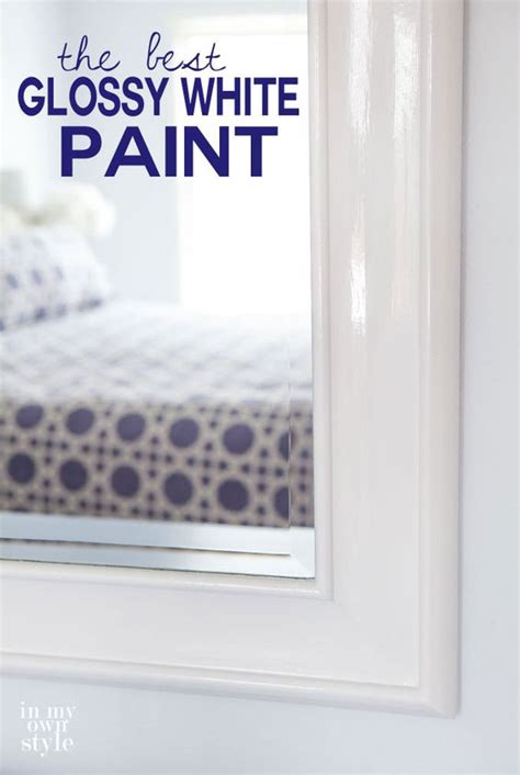 favorite glossy white paints paint  wood