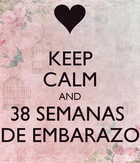 Imagenes De Keep Calm De Embarazo | keep calm and 38 semanas de embarazo poster daniela
