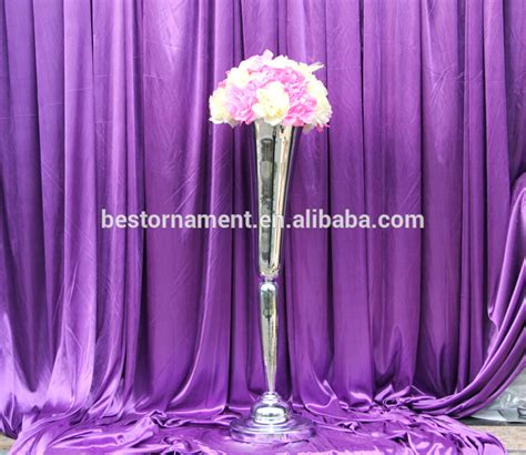 Metal Vases For Wedding Centerpieces by Metal Flower Trumpet Vases Centerpieces For Wedding Buy