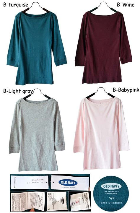 Kaos Look To Your Left Nm7p5 buy buy1get1 3 4sleeve boat neck tshirt 100 asli