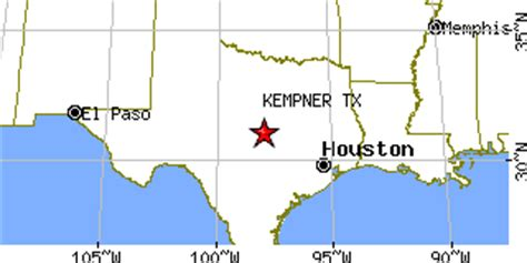 kempner texas map kempner texas tx population data races housing economy