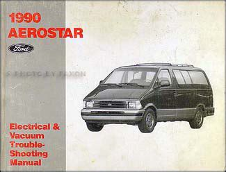 car repair manuals online free 1990 ford aerostar instrument cluster 1990 ford aerostar ranger bronco ii repair shop manual set original