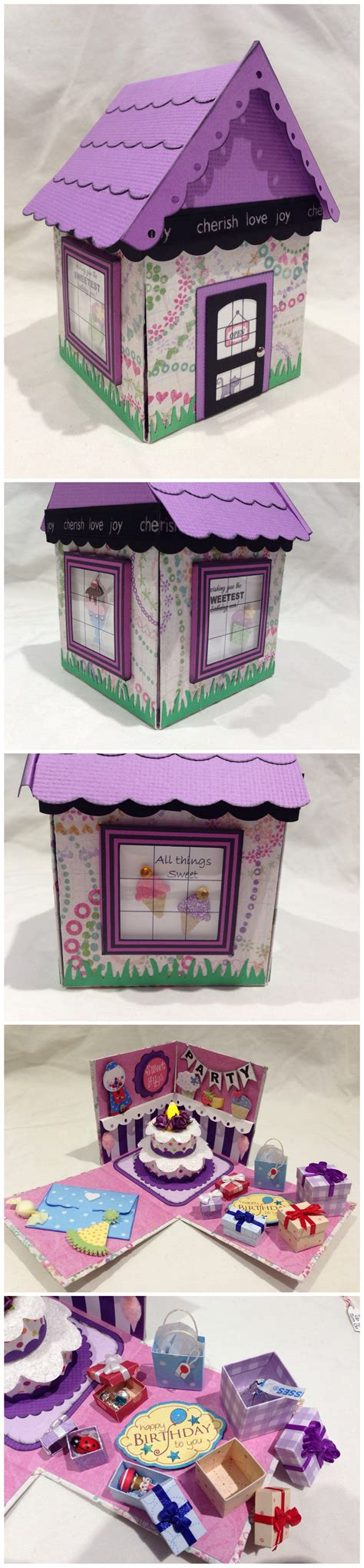 explosion box cake tutorial sweet shop birthday party explosion box with tea light