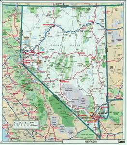 road map of california and nevada related keywords suggestions for nevada road map